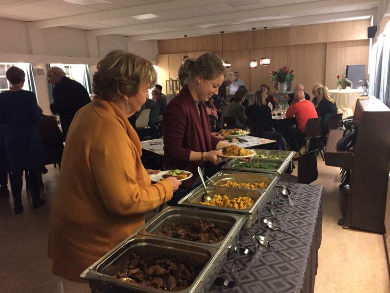maaltijd nieuwjaarsreceptie diaconie