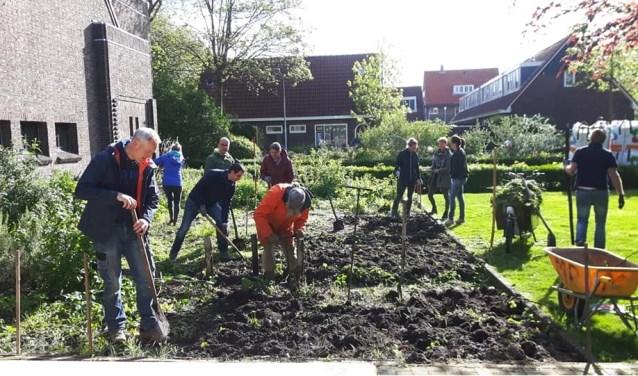 groene helden moestuin Oosterkerk