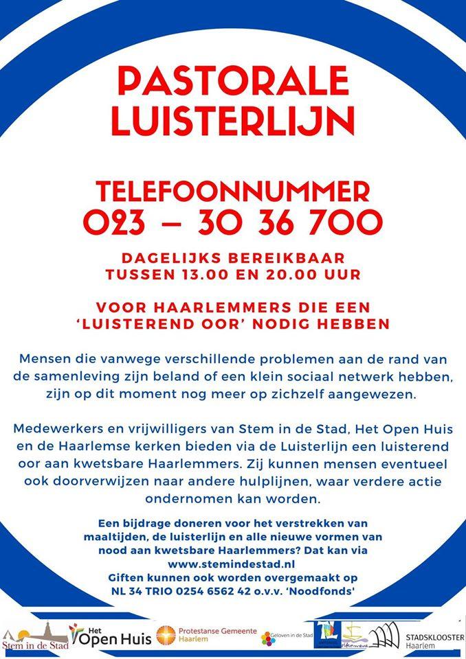 Pastorale Luisterlijn Haarlem
